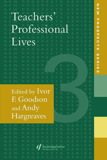 Teachers' Professional Lives book cover