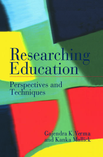 Researching Education Perspectives and Techniques book cover