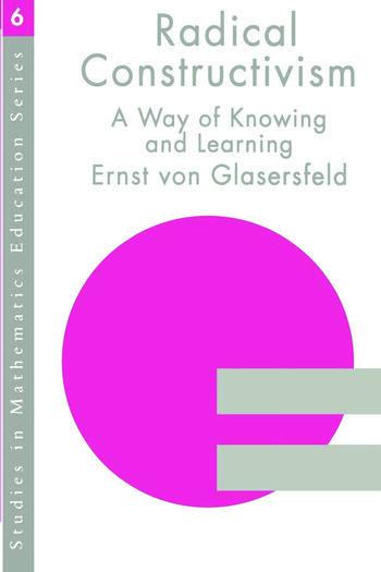 RADICAL CONSTRUCTIVISM book cover