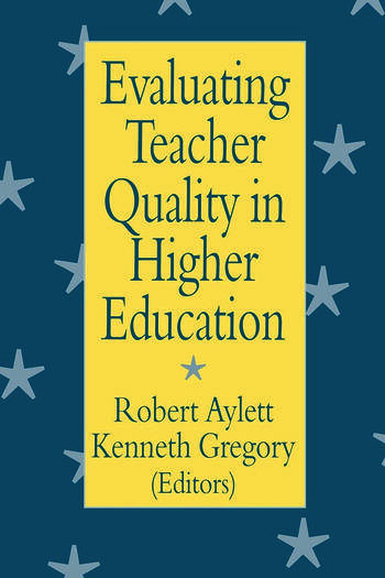 Evaluating Teacher Quality in Higher Education book cover