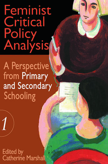 Feminist Critical Policy Analysis I book cover