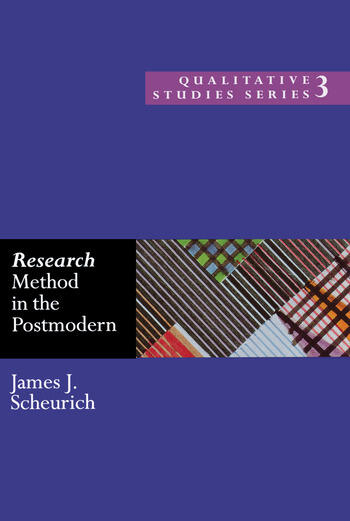 Research Method in the Postmodern book cover