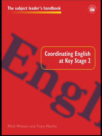Coordinating English at Key Stage 2 book cover