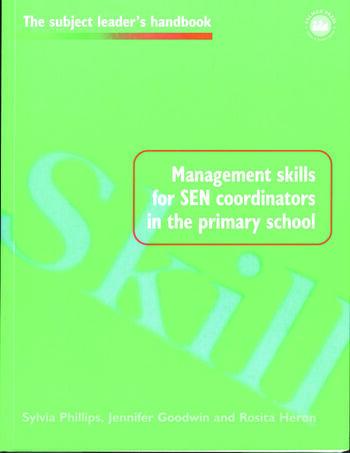 Management Skills for SEN Coordinators in the Primary School book cover