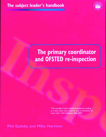 The Primary Coordinator and OFSTED Re-Inspection book cover