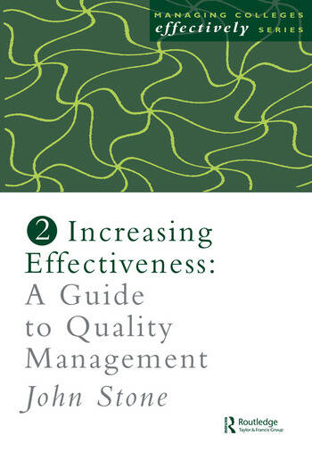 Increasing Effectiveness A Guide to Quality Management book cover