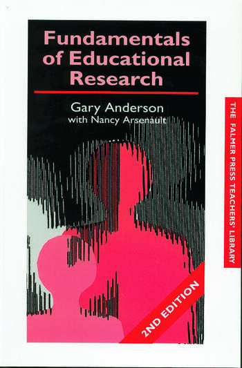 Fundamentals of Educational Research book cover