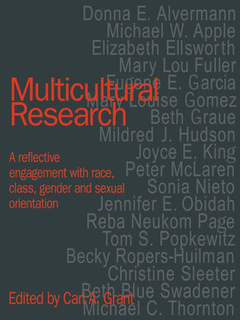Multicultural Research Race, Class, Gender and Sexual Orientation book cover