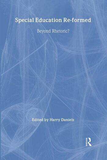 Special Education Reformed Inclusion - Beyond Rhetoric? book cover