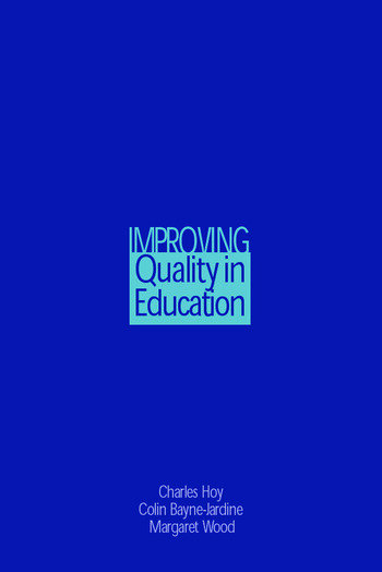 Improving Quality in Education book cover