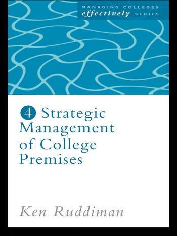 Strategic Management of College Premises book cover
