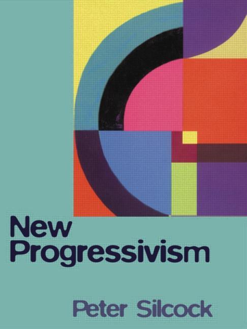 New Progressivism book cover