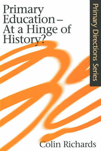 Primary Education at a Hinge of History book cover