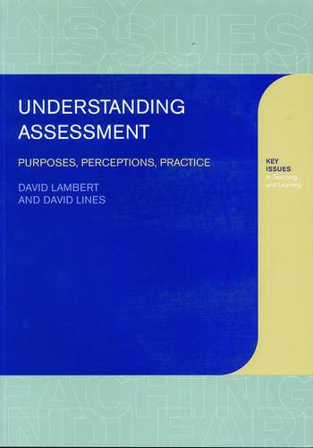 Understanding Assessment Purposes, Perceptions, Practice book cover
