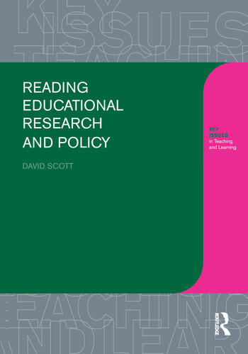 Reading Educational Research and Policy book cover