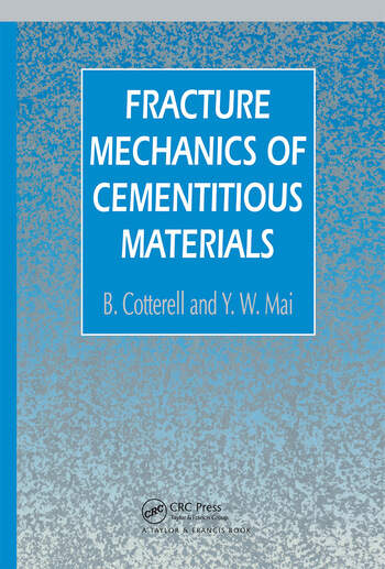 Fracture Mechanics of Cementitious Materials book cover
