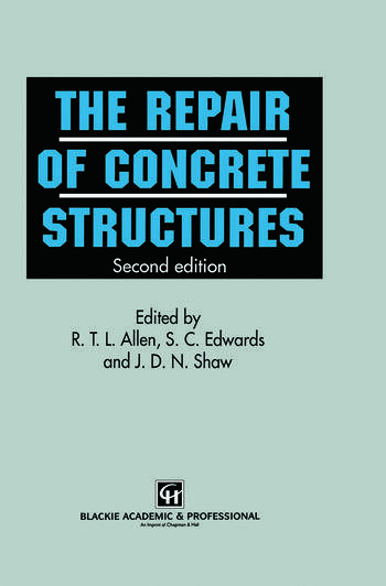 Repair of Concrete Structures book cover