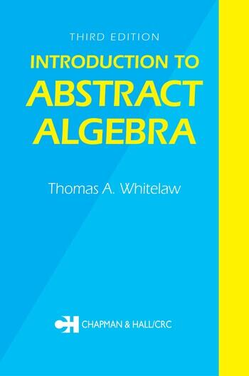 Introduction to Abstract Algebra, Third Edition book cover
