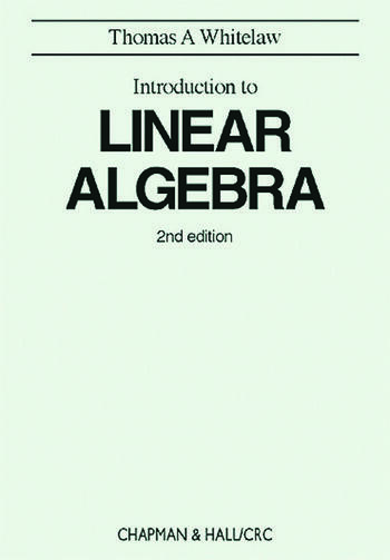 Introduction to Linear Algebra, 2nd edition book cover