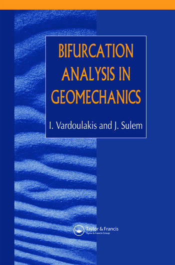 Bifurcation Analysis in Geomechanics book cover