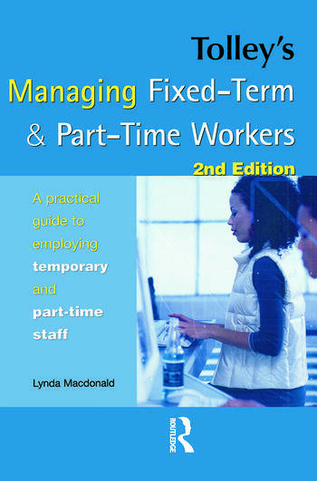 Tolley's Managing Fixed-Term & Part-Time Workers book cover