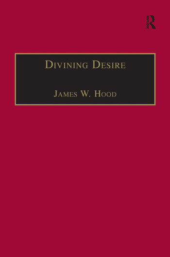 Divining Desire Tennyson and the Poetics of Transcendence book cover