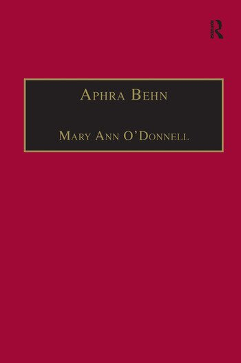 Aphra Behn An Annotated Bibliography of Primary and Secondary Sources book cover