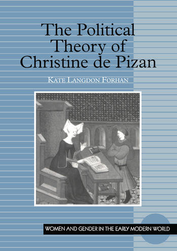 The Political Theory of Christine de Pizan book cover