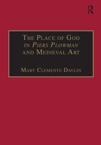 The Place of God in Piers Plowman and Medieval Art book cover