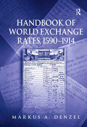 Handbook of World Exchange Rates, 1590–1914 book cover
