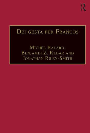 Dei gesta per Francos Etudes sur les croisades dédiées à Jean Richard - Crusade Studies in Honour of Jean Richard book cover