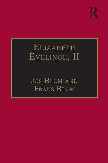 Elizabeth Evelinge, II Printed Writings 1500–1640: Series I, Part Three, Volume 5 book cover