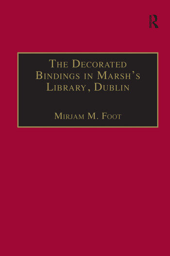 The Decorated Bindings in Marsh's Library, Dublin book cover
