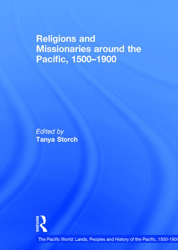 Religions and Missionaries around the Pacific, 1500–1900 book cover