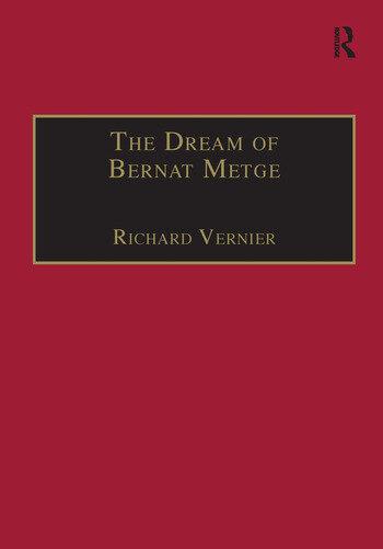 The Dream of Bernat Metge book cover