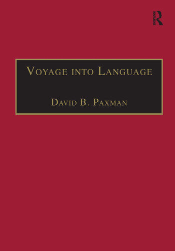 Voyage into Language Space and the Linguistic Encounter, 1500–1800 book cover