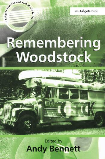 Remembering Woodstock book cover