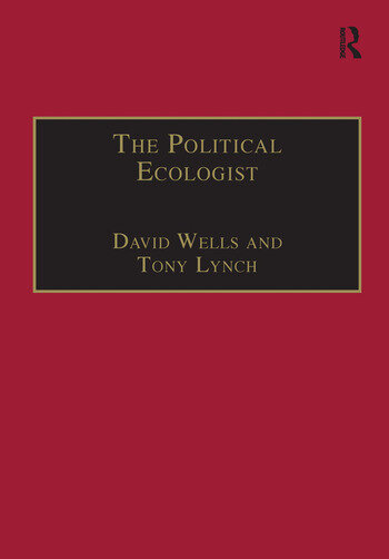 The Political Ecologist book cover