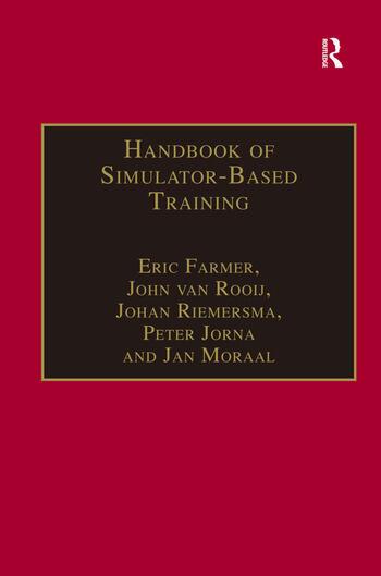 Handbook of Simulator-Based Training book cover