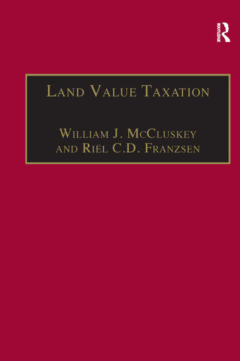Land Value Taxation An Applied Analysis book cover