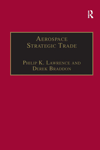 Aerospace Strategic Trade How the US Subsidizes the Large Commercial Aircraft Industry book cover