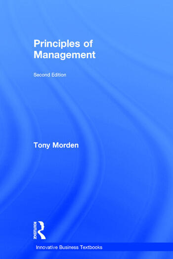 Principles of Management book cover
