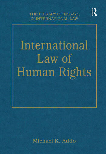 International Law of Human Rights book cover
