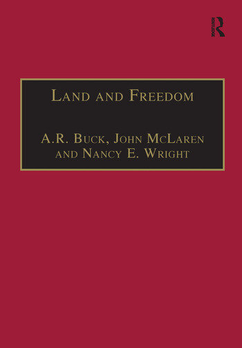Land and Freedom Law, Property Rights and the British Diaspora book cover