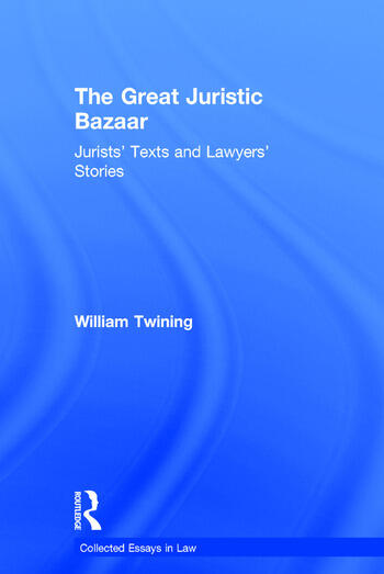 The Great Juristic Bazaar Jurists' Texts and Lawyers' Stories book cover