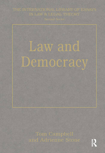 Law and Democracy book cover