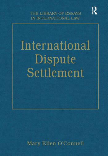 International Dispute Settlement book cover
