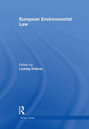 European Environmental Law A Comparative Perspective book cover