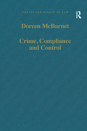 Crime, Compliance and Control book cover