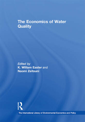 The Economics of Water Quality book cover